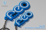 3D key-chains